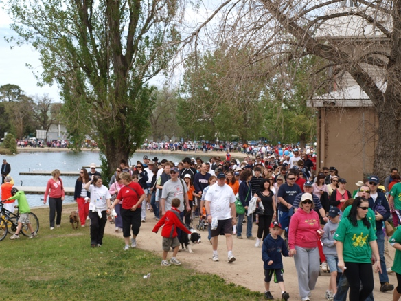 10,000 people came to help find a cure for diabetes